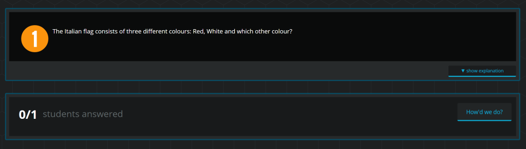 Socrative Interactive Feedback