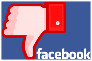Facebook thumbs down to community standards