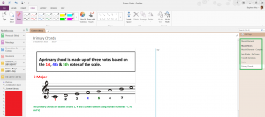 OneNote 2013 Screenshot