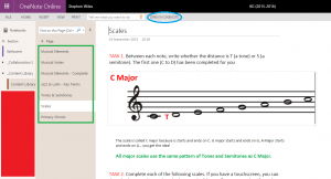 OneNote Web Version