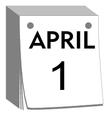 Calendar April 1
