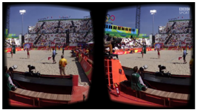 Beach Volleyball in Virtual Reality